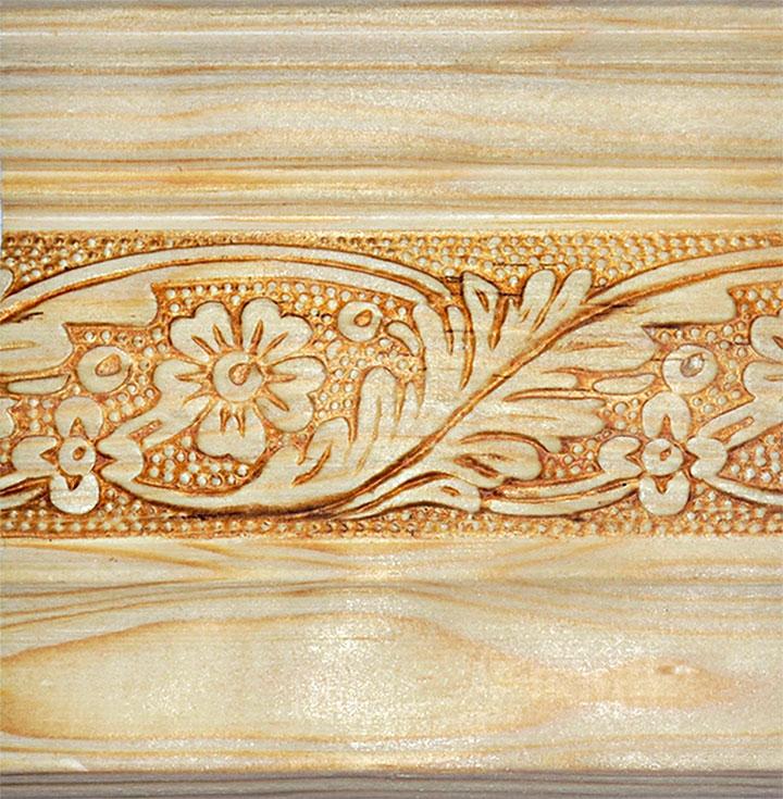 Molduras de madera para cornisa molduras puertas y - Molduras de madera para pared ...